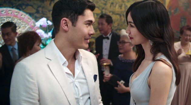 Henry Golding and Gemma Chan star in 'Crazy Rich Asians.'