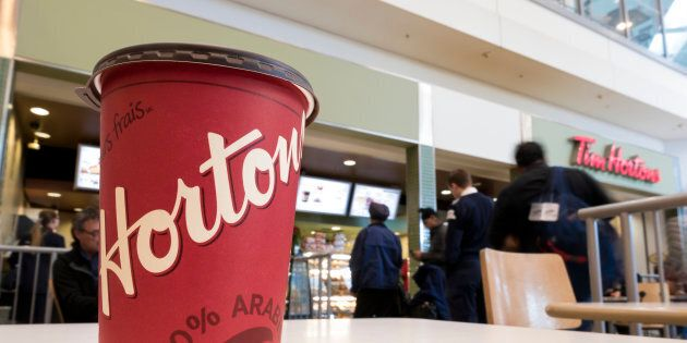 Tim Hortons president Alex Macedo says the brand was slow to change the lids because many franchisees figured...
