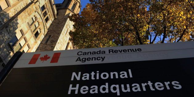The Canada Revenue Agency headquarters in Ottawa, Fri. Nov. 4, 2011. In a new survey, nine in 10 CRA...