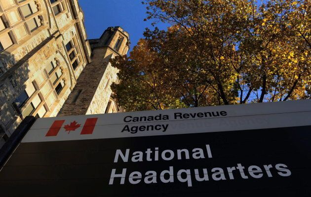The Canada Revenue Agency headquarters in Ottawa is shown on Nov. 4,