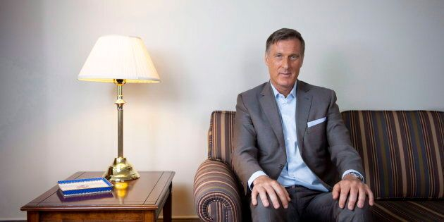Conservative MP Maxime Bernier is photographed in his office on Parliament Hill in Ottawa on Aug. 1,