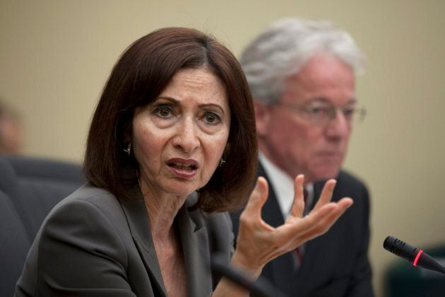 Ontario's former Information and Privacy Commissioner Ann Cavoukian in Toronto in