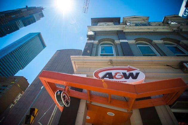 A&W announced last week its Beyond Meat burgers were temporarily out of