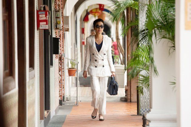 Michelle Yeoh as Eleanor Young perfectly embodies the harsh but protective mother figure.