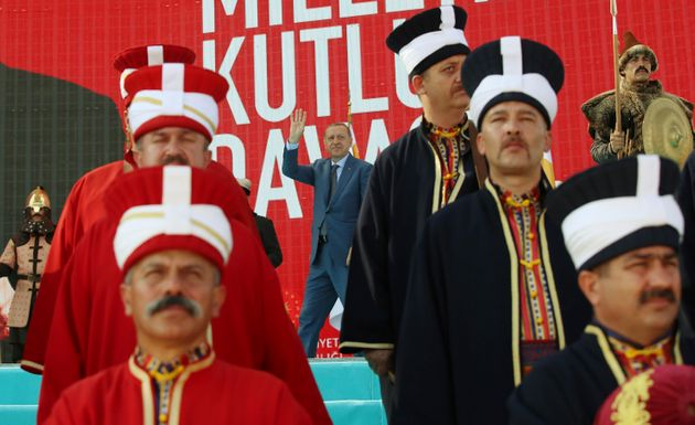 anniversary of the Battle of Manzikert in eastern Mus province, eastern Turkey, Sunday, Aug. 26,