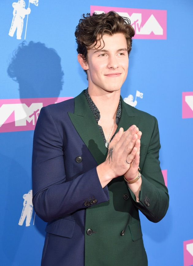 Shawn Mendes attends the 2018 MTV Video Music Awards at Radio City Music Hall on Aug. 20, 2018 in New...