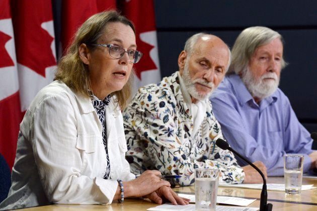 Experts were extremely critical of Canada's nuclear waste policy at a news conference in Ottawa on August 21, 2018.