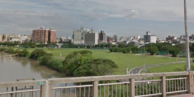 A Google Street view image shows the area that New Taipei City police are investigating after a Canadian...