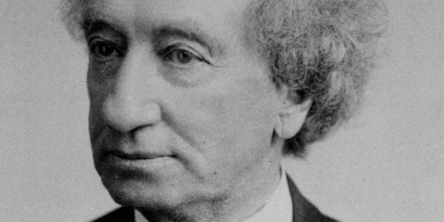 Sir John A. Macdonald, seen in 1890, was Canada's founding prime