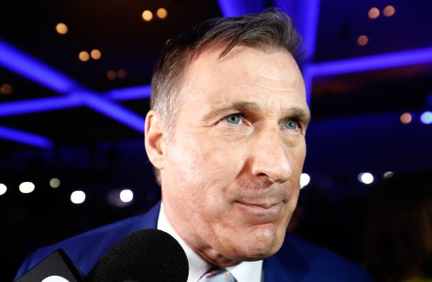 Maxime Bernier during the Conservative Party of Canada leadership convention in Toronto on May 27,