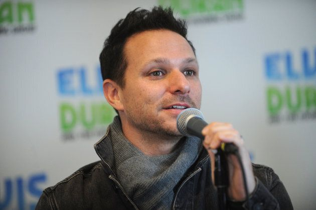 Drew Lachey of 98 Degrees visits Z100 Studio in New York in