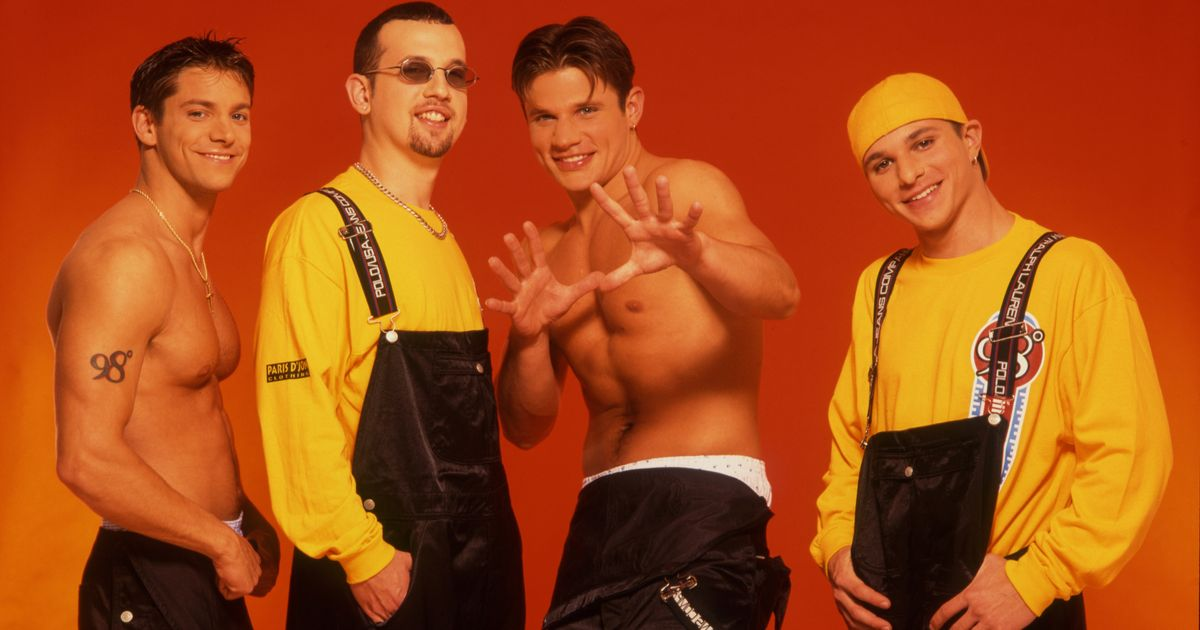 Shirtless And Marching To His Own >> What Did 98 Degrees Get Up To After The Band Politics Stripping