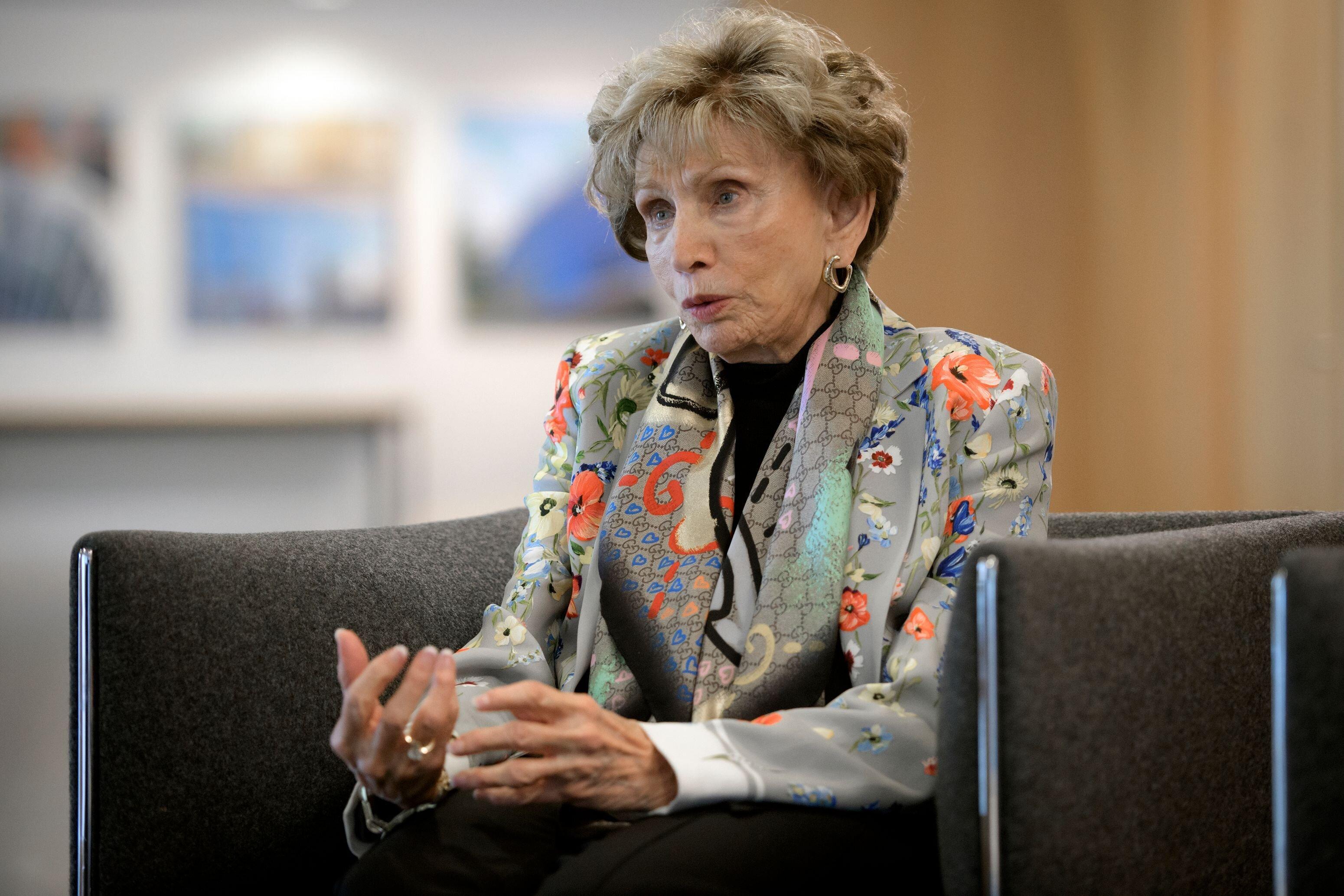 Une survivante de l'Holocauste plaint les antisémites qui «gâchent leur vie» à