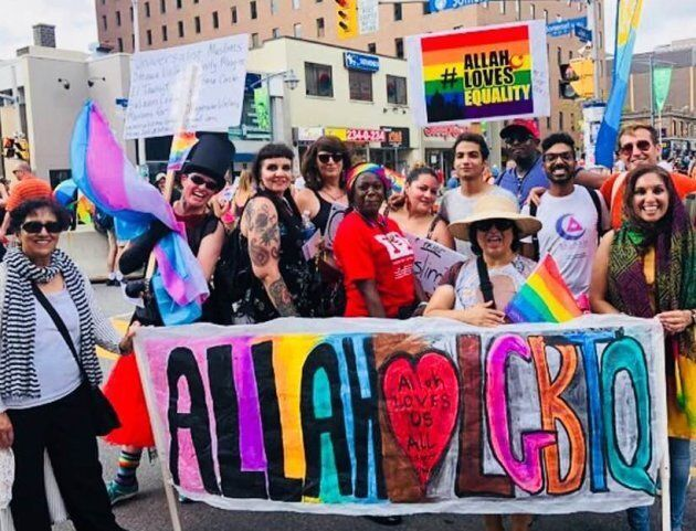The Ottawa Capital Pride Parade's LGBTQ Muslim contingent and