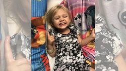 Calgary Toddler Partially Paralyzed In Freak Blanket Fort