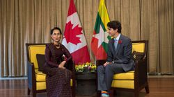 Time To Pull Myanmar Leader's Honorary Canadian Citizenship: