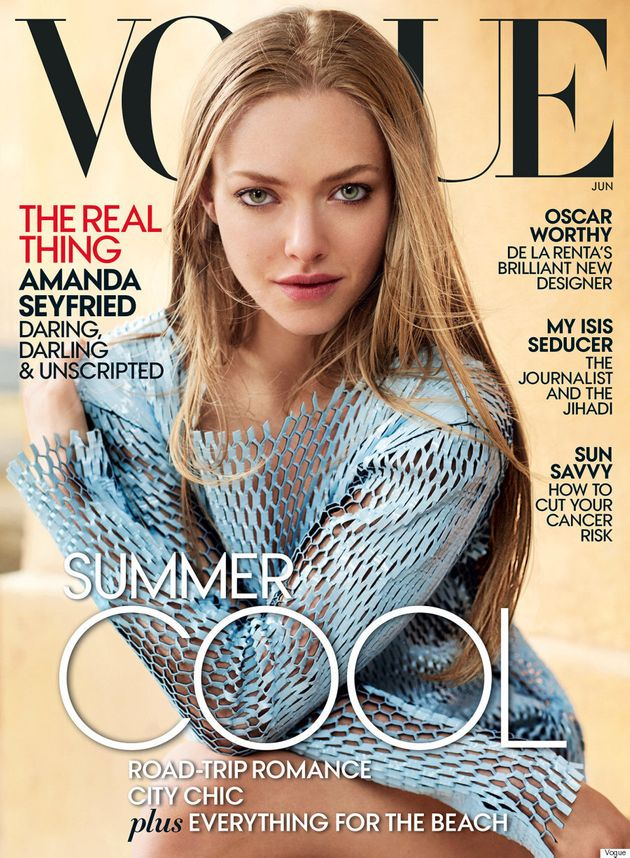 Amanda Seyfried's Vogue Cover Is Absolutely