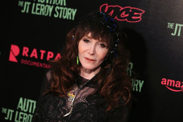 Author Laura Albert at the premiere of the 2016 documentary 'Author: The JT Leroy Story.'