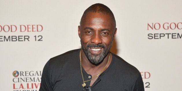 LOS ANGELES, CA - AUGUST 26: Actor Idris Elba attends The L.A. Special Screening Of Screen Gems' 'No...