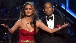 WATCH: Chrissy Teigen's Dress Tripped Someone At The