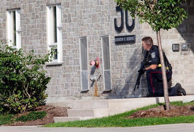 Niagara Regional Police respond to a shooting in St. Catharines,
