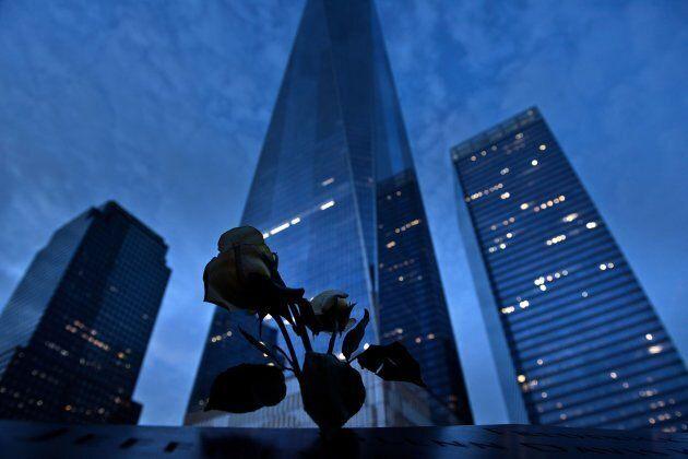 One World Trade Center, which now marks the former site of the World Trade Center's north tower at Ground Zero in New York.