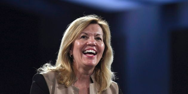 Christine Elliott made her first major speech as minister on