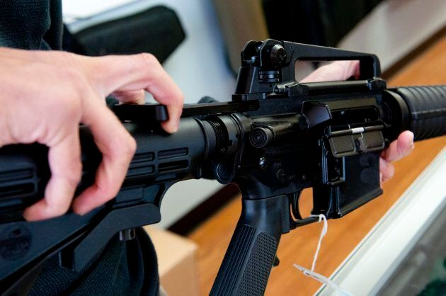 The Bushmaster XM-15 is a restricted firearm available in Canada.