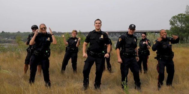 Saskatoon Police Lip Sync Video Combines 'Brooklyn 99' Spoof With Backstreet Boys