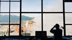 Huge Chemical Fire At Vancouver Port Prompts Evacuation,