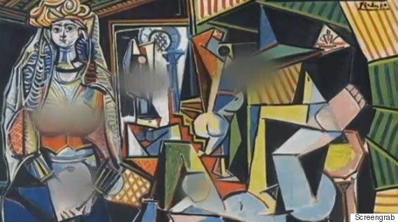 Cubist Boobs In Picasso Painting Too Hot For Fox Affiliate