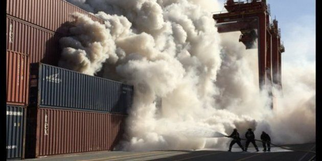 Vancouver Port Fire Out, Investigation