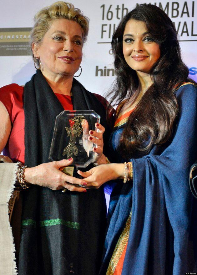 Aishwarya Rai Makes A Rare Red Carpet Appearance At Mumbai Film