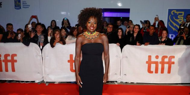 Viola Davis at the world premiere of 'Widows' at the Toronto International Film Festival on Sept. 8,