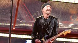 WATCH: U2 Guitarist Falls Off Vancouver