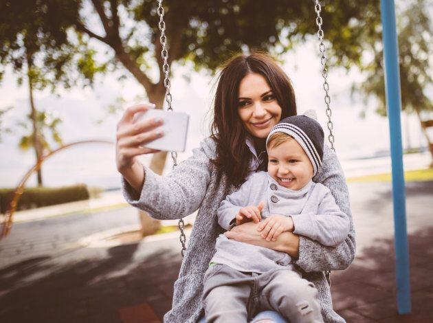 A recent survey found 40 per cent of parents believe it's their right to post images without the consent...