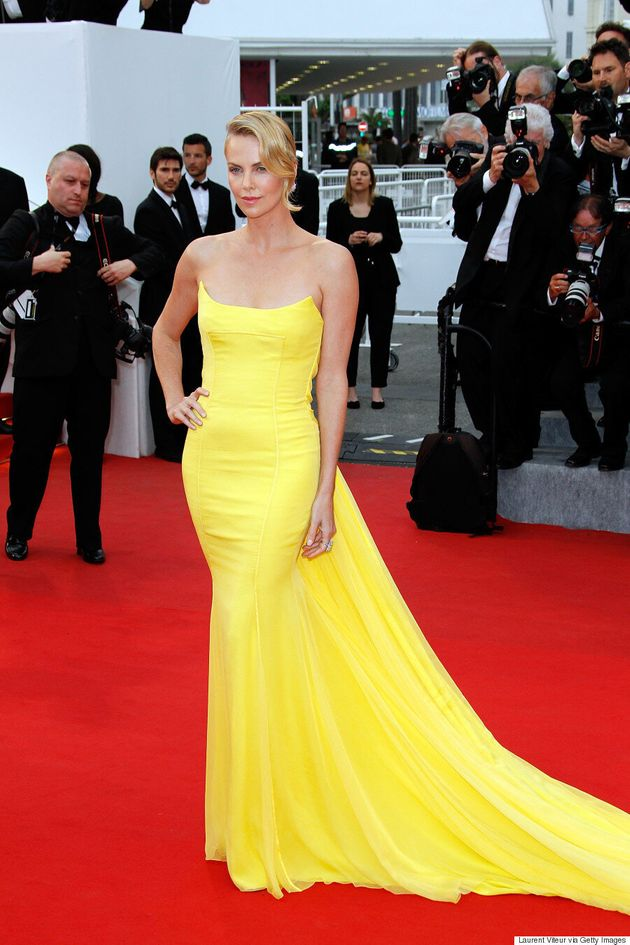 Charlize Theron Is The Belle Of The Ball At Cannes