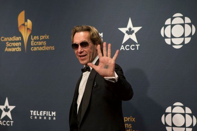 Michael Wekerle arrives on the red carpet at the 2015 Canadian Screen Awards in Toronto on March 1,