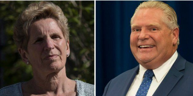 Former Ontario premier Kathleen Wynne says her successor Doug Ford's plan to use the notwithstanding clause to pass controversial legislation is