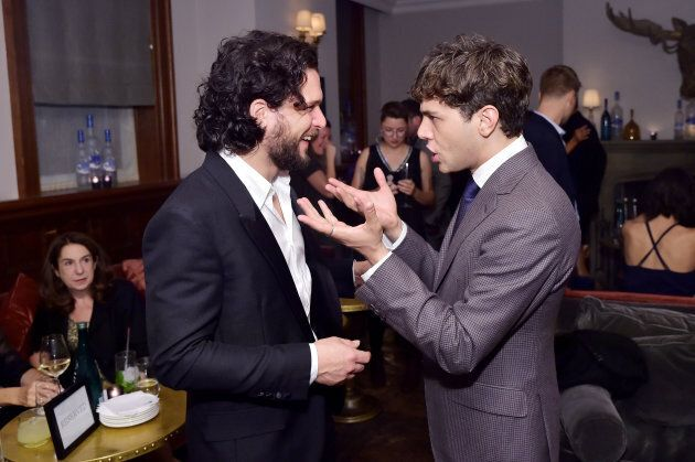 Kit Harington and Xavier Dolan at