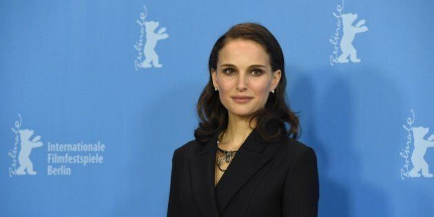 Israeli-born US actress Natalie Portman poses for photographers during a photocall of the film 'Knight...