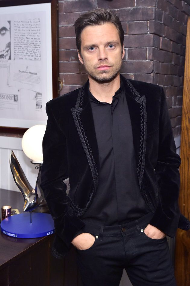 Sebastian Stan at the 'Destroyer' cast dinner hosted by Grey Goose vodka and Soho