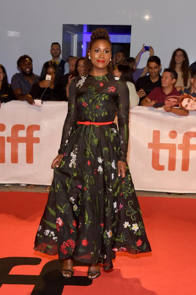 Issa Rae at the premiere of 'The Hate U