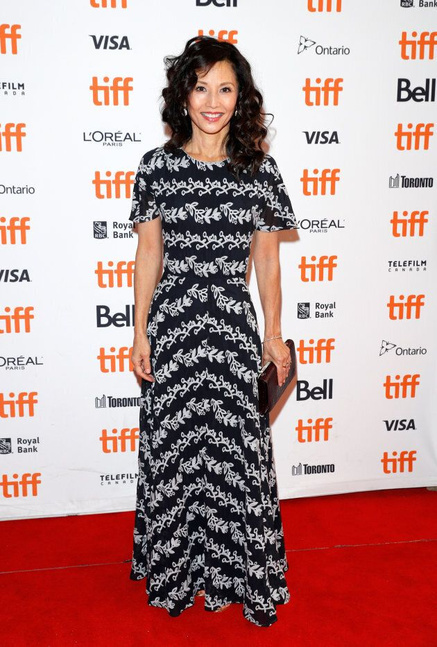 Tamlyn Tomita attends the 'The Joy Luck Club' premiere during 2018 Toronto International Film Festival...