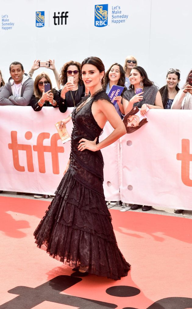 Penelope Cruz attends the TIFF 'Everybody Knows'