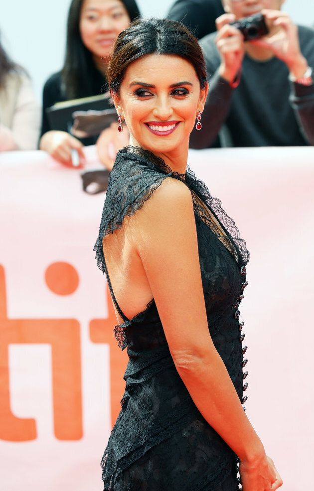 Penelope Cruz attends the premiere of 'Everybody