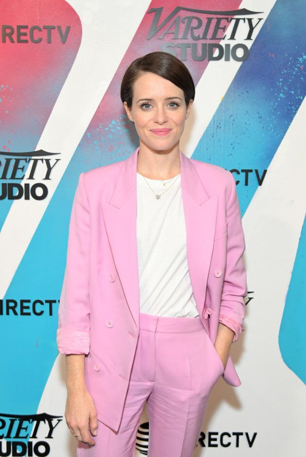 Claire Foy at the DIRECTV House presented by AT&T at Momofuku as part of TIFF on September 10,