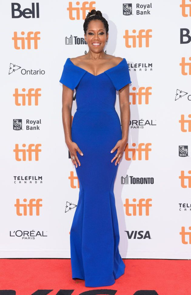 Regina King at the TIFF premiere of 'If Beale Street Could