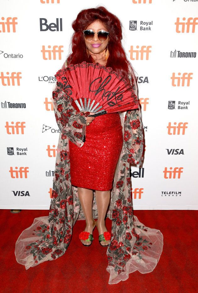 TORONTO, ON - SEPTEMBER 09: Chaka Khan attends the 'Quincy' red carpet premiere on September 9, 2018...