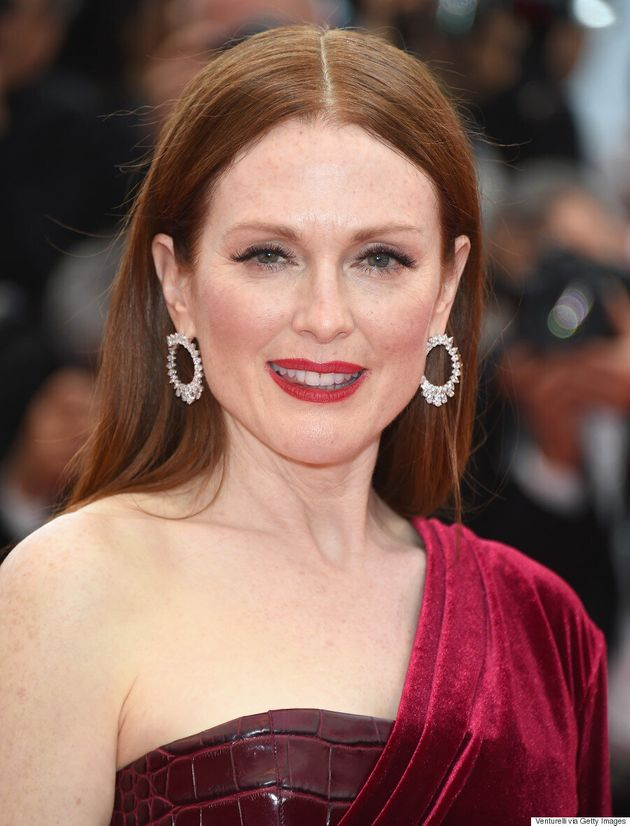 Julianne Moore Channels The Red Queen At Cannes